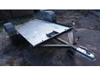 6X4 Metal Car Trailer