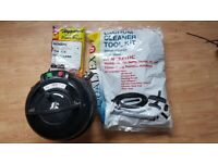 used Henry Vacuum Cleaner 2 speed new 3 Metre Hose new Brushes new Rods Kit 10 Bags new t