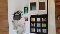 Nintendo DS with 11 games and 2 chargers