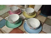 Cath Kidston cups and saucers