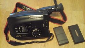 JVC CCOMPACT VHS CAMCORDER GR-AX270 IN WORKING CONDITION WITH EXTRAS