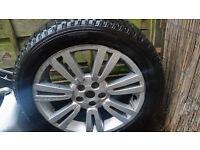 Genuine Range Rover Alloy & Tyre