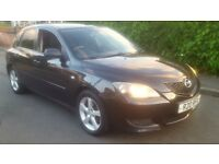 2005 MAZDA 3 1.6 TS2 PETROL LONG MOT CHEAP CAR PART EXCHANGE WELCOME FOCUS ASTRA PRIVATE PLATE