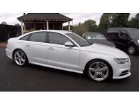 August 2015 Audi A6 2.0 TDi SLine Ultra 190 Multitronic only 14000miles