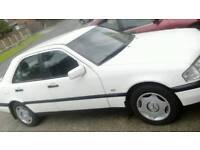 1996 MERCEDES C CLASS C200 CLASSIC AUTO GENUINE 53,000