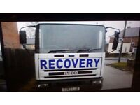 Ford iveco recovery truck