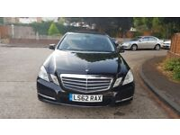 E class Mercedes black , full Mercedes Service History ,One owner from new