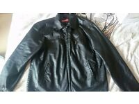 Men's genuine leather jacket for sale