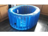 La Bassine Made in Water Home birthing Pool / New Unused Pool Liner and Pool Accessories