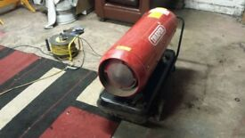draper space /garage heater