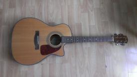 Fender CA-360SCE Auditorium Acoustic/Electric Guitar