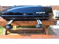 exodus roof box & roof bars and accessories