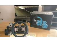 Logitec G27 Steering Controller