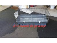 Large bunny / guinea pig cage