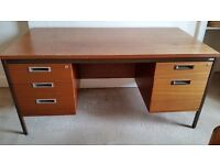 **Flat Clearance - 3x Large Wooden Desks, £15 each – Must go by the weekend **