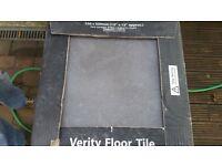 black/dark grey quality floor tiles