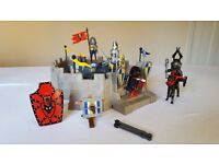 Playmobil 3 in 1 Knights Action (ref: 4217) - Two forts set sold together