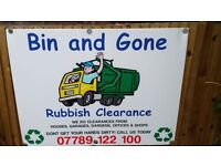 BIN AND GONE RUBBISH CLEARANCE READING WOKINGHAM BERKSHIRE