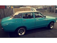 datsun 120y 1171cc 1978 s reg minted classic car moted jan 018 taxed 4500 if gone buy the mora