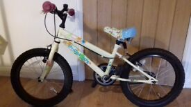 "Apollo Woodland charm girl's bike 18"" wheels age approx 5-8"
