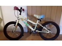 "Apollo Woodland charm girl's bike 18"" wheels age approx 5-8"