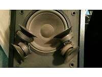 Classic bose 601 series lll speakers