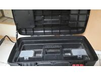 mobile toolchest with tote tray