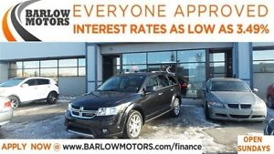 2013 Dodge Journey R/T *EVERYONE APPROVED*APPLY NOW DRIVE NOW!