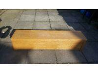 Ottoman blanket Box For Sale light Oak Good Condition General Wear £25.00