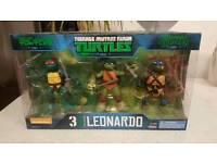 Ninja Turtles Collectors Leonardo Box Set