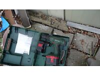 2 Bosch 24v cordless drill come with 3 batteries and 2 boxes no charger not tested hence £30