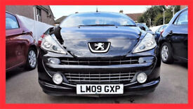 (43000 Miles) GT 2009 Peugeot 207 CC 1.6 HDi FAP GT -- Diesel -- 43000 Miles -- Low Mileage --PX OK