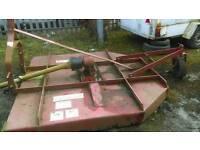 Agri cut 72 grass tractor topper shaft driven.