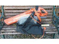Flymo 1500plus garden vac/blower