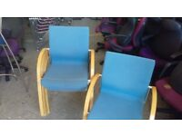 office profesional chair lightblue conference with wooden arm meeting stacking