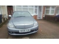 Mercedes Benz c220 08 plate Automatic