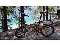 DOHON PRO 24 Speed Folding Bike like Tern or Brompton