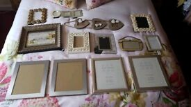 13 x Selection of photoframes
