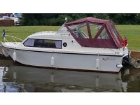 Shetland 4 + 2 Boat 1983, lovely condition Mercury Outboard engine.
