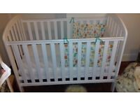 White O Baby cot and Matress in Acton amazing condition