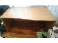 Solid Wood Office Computer Desk