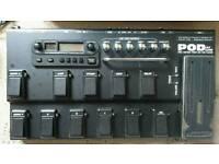 Line6 pod xt live guitar effects pedal
