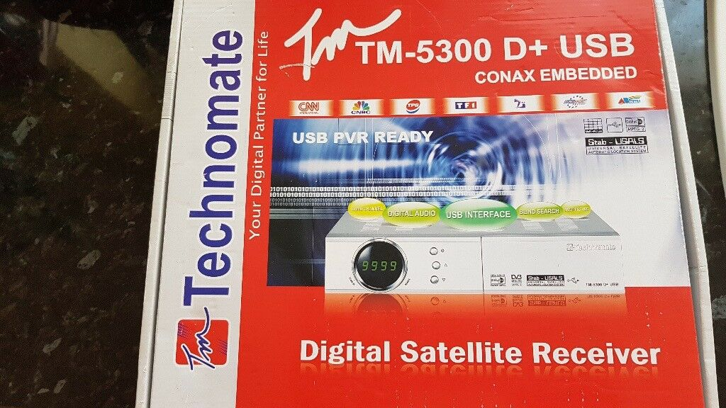 Technomate tm 5300 d+ usb satellite box | in Rochester, Kent | Gumtree