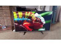 """PANASONIC VIERA TX-49DX650B Smart 4k Ultra HD 49"""" LED TV"""
