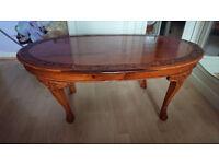 Teak wooden table