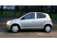 Toyota yaris 1.0 petrol 5dr hachback 12 services stamps long mot