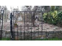 Wrought iron gate 1110w 1330h