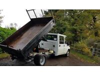 Ford transit T350 115bhp dubill cab tipper truck