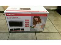 Sharp microwave oven and grill