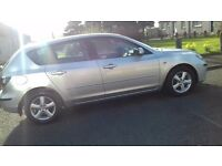 Mazda3 ts 1.6 petrol 61.000 miles mot aug17. Looking to swap 4x4 automatic. Or for sale